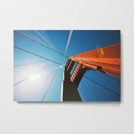 Golden Gate 2 Metal Print