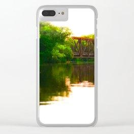 Leidel's Bridge Clear iPhone Case