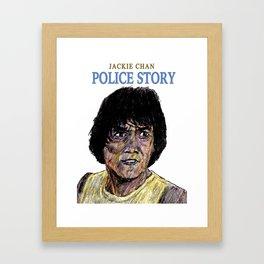Police Story Framed Art Print