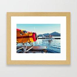 Float Planes Framed Art Print