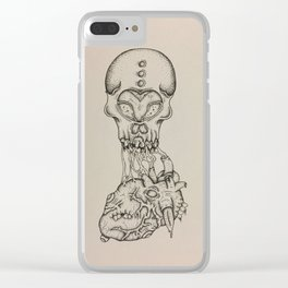 Malforming Love Clear iPhone Case