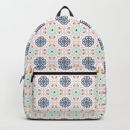 Pastel Moroccan Pattern Backpack