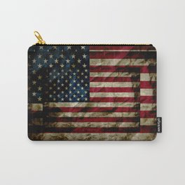 American Leather Flag Carry-All Pouch
