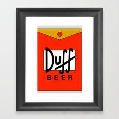 Duff Beer! Framed Art Print