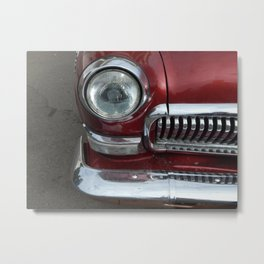 Retro cars antique parts and the elements Metal Print