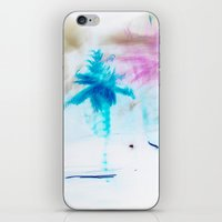 preppy iPhone & iPod Skins featuring Preppy Beach by EPART