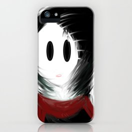 Gloomy Girl iPhone Case