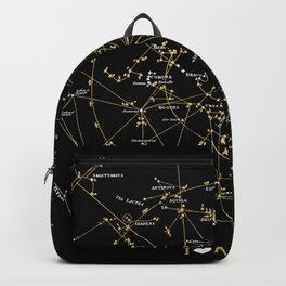 Stars Constellations Love Astronomy Cosmos Galaxy Universe Backpack
