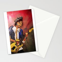 Keith in Abstract. Stationery Cards