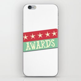 Stars and awards iPhone Skin