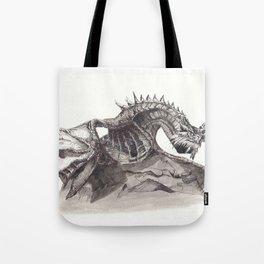 Paarthurnax from Skyrim ; Skyrim Dragon ; Fantasy Art Tote Bag