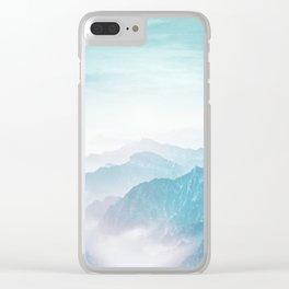 Pastel landscape 04 Clear iPhone Case