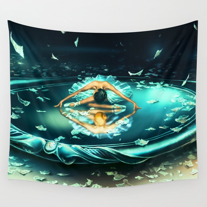 GEMINI from the Dancing Zodiac Wall Tapestry