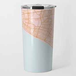 Lima map, Peru Travel Mug