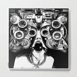 asc 712 - Le masque de la Méduse (Object woman) Metal Print