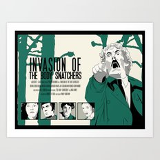 Invasion of The Body Snatchers Art Print