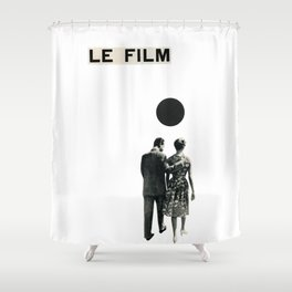 Le Film Shower Curtain