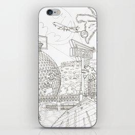 LA iPhone Skin