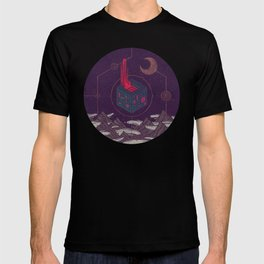 It Appeared in the Night Sky, and It Made the Wind Sharp T-shirt