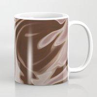 chocolate Mugs featuring Chocolate by Paula J James