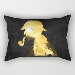The Parting Hour Rectangular Pillow