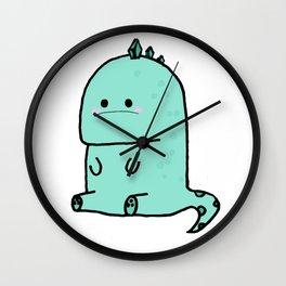 Nonchalant Saur Wall Clock