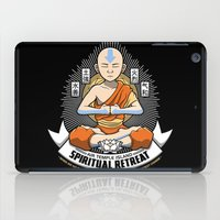spiritual iPad Cases featuring Spiritual Retreat by adho1982