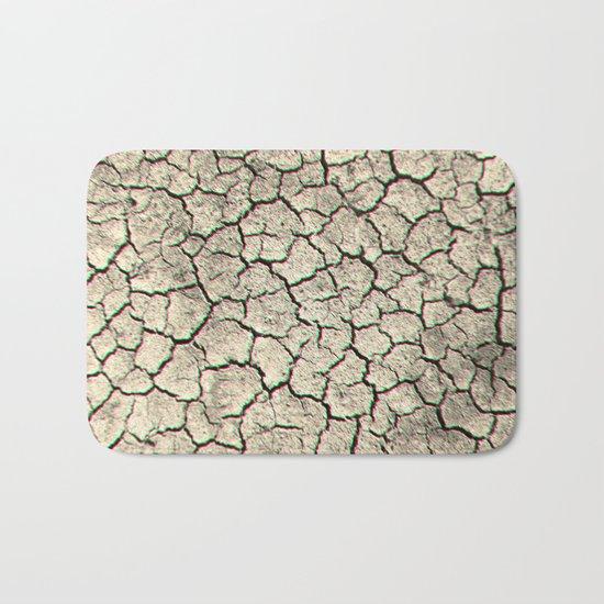 Glitchy desert Bath Mat