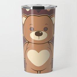 Valentine Teddie Travel Mug
