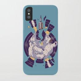 Polar Bear Duet iPhone Case
