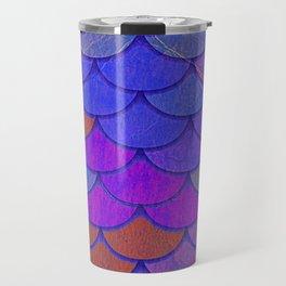 Multicolor Scales Travel Mug