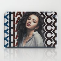 charli xcx iPad Cases featuring Charli XCX  by Illuminany
