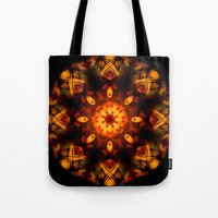 demon Tote Bags featuring Demon by Shadow Chocobo