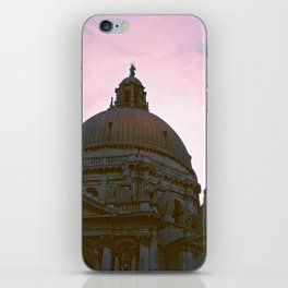 Pink - A Sunset in Venice, Italy iPhone Skin