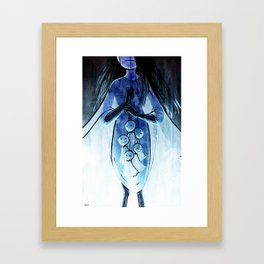 Here be Voodoo : The dolls collection Framed Art Print