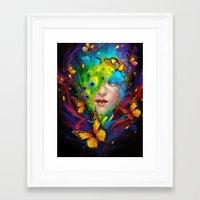 alchemy Framed Art Prints featuring Alchemy by Lena Richards
