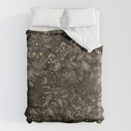 Fit In (autumn night colors) Duvet Cover