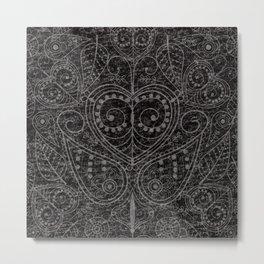 Rustic Leaf Art Metal Print