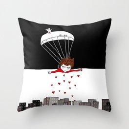 Flying Monday Throw Pillow
