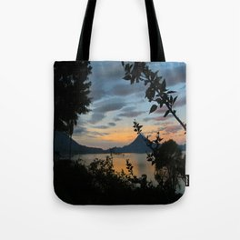 Lago Atitlan at Sunrise Tote Bag