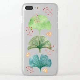 Ginkgo Clear iPhone Case