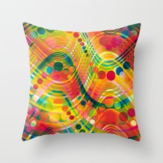 datastream 73 Throw Pillow