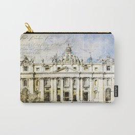 St. Peter's Basilica, Rome Italy Carry-All Pouch