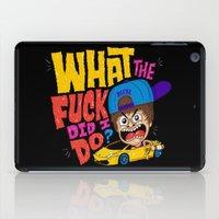 drunk iPad Cases featuring Drunk Beebz by Chris Piascik