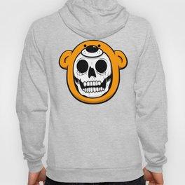 Alfredo Monster Skull Bear Hat  Hoody