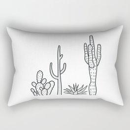 Cactus illustration Rectangular Pillow