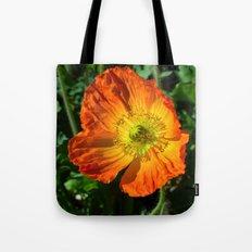 Orange Poppy II Tote Bag