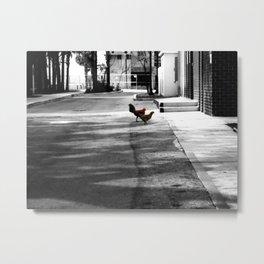 Urban Dwellers Metal Print