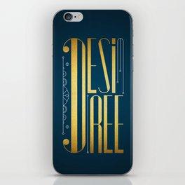 Desiree iPhone Skin