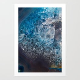 An Ocean in Stone Art Print